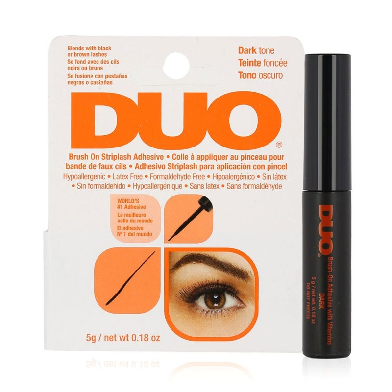 Brush on Striplash Adhesive - Dark Tone - by DUO