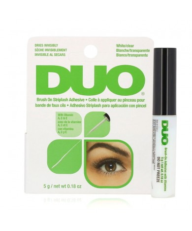 Brush on Striplash Adhesive - White/Clear - By DUO