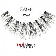 Red Cherry Lashes Style #523 (Sage)